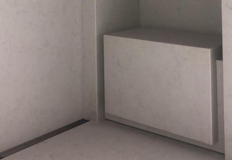 Voorbeelden badkamers natuursteen good latest luxe badkamer met